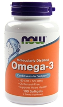 Omega-3 (100 Softgels) - Now Sports