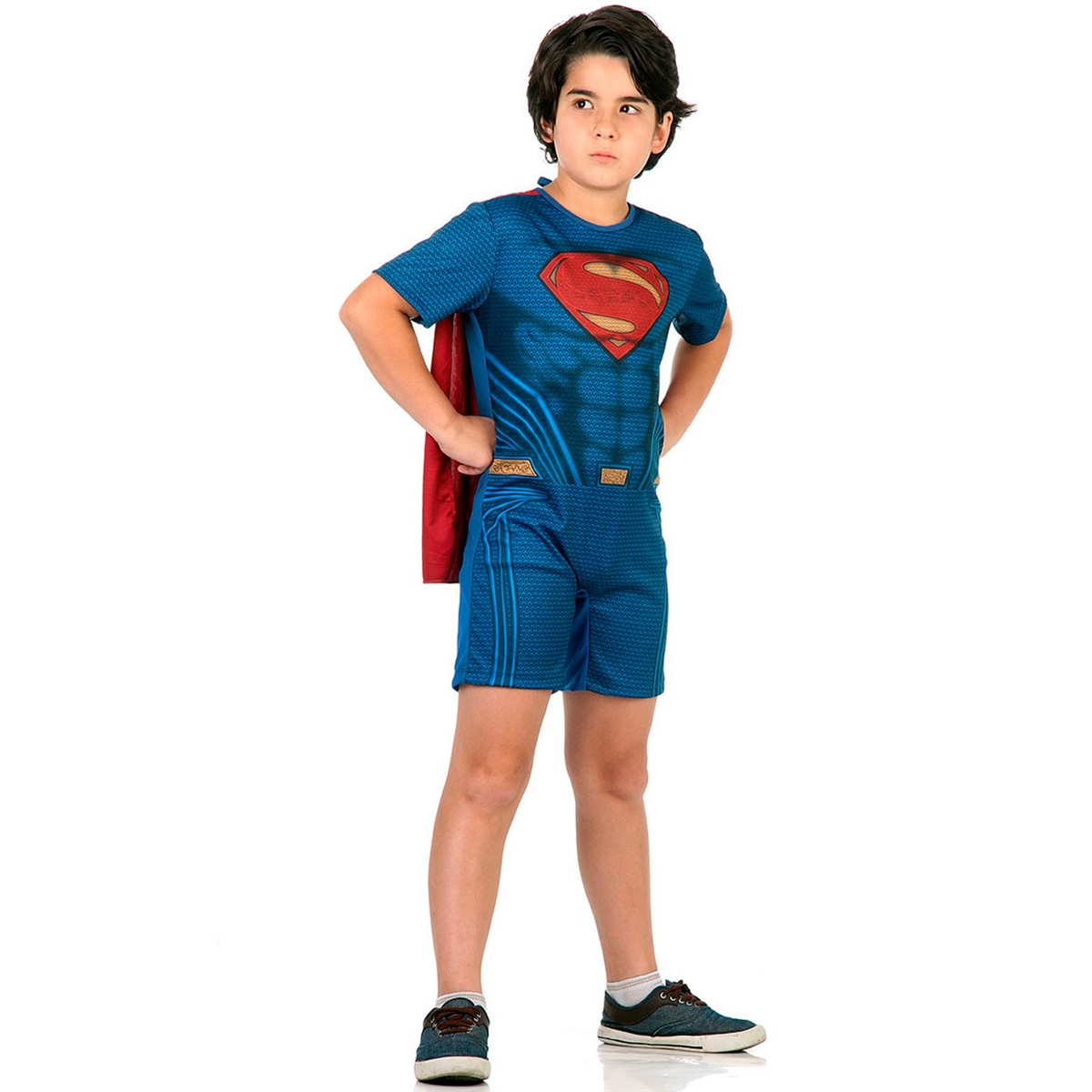 Fantasia Super Homem SuperMan Infantil Pop Batman Vs