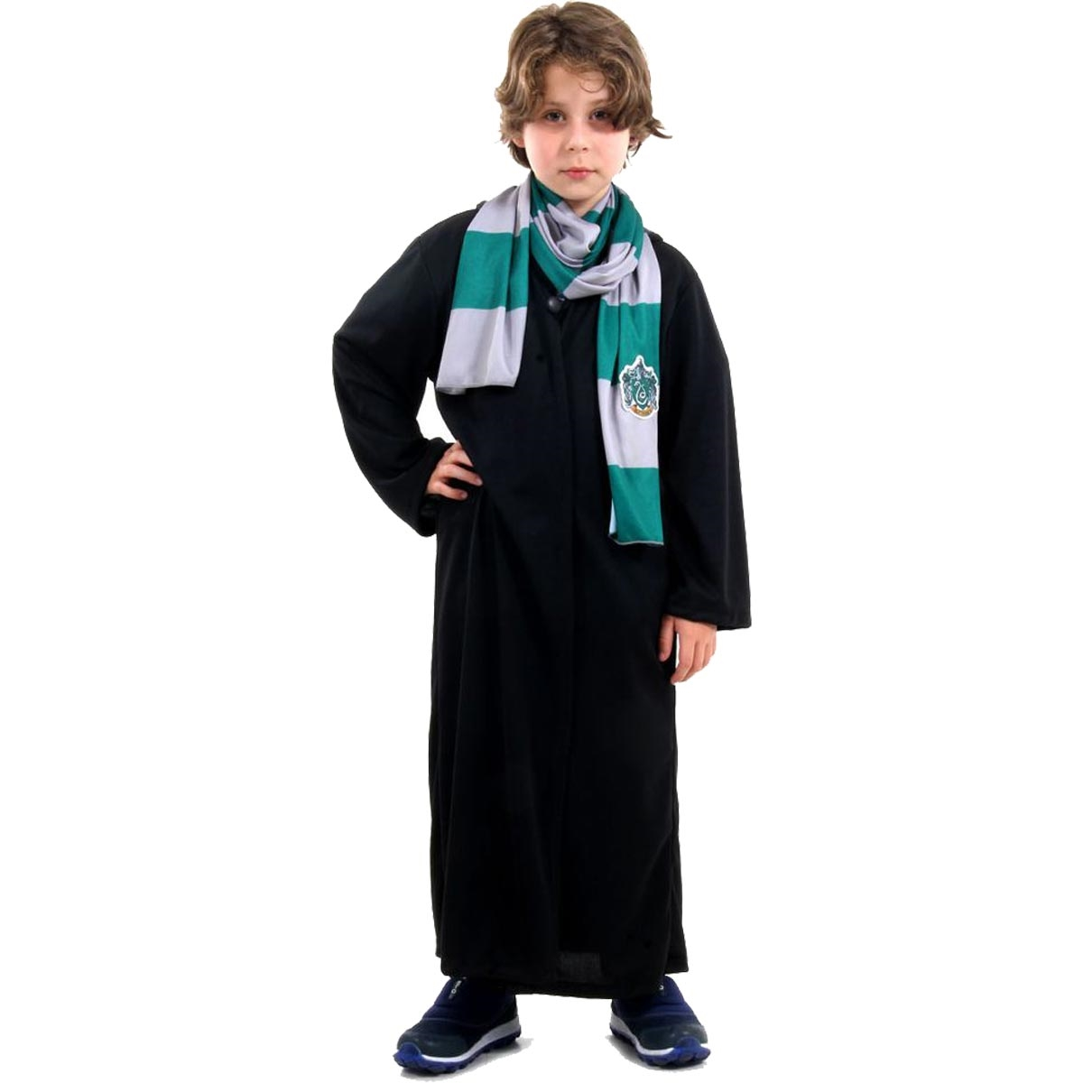 Fantasia Harry Potter Infantil Draco Malfoy Fantasiascarol