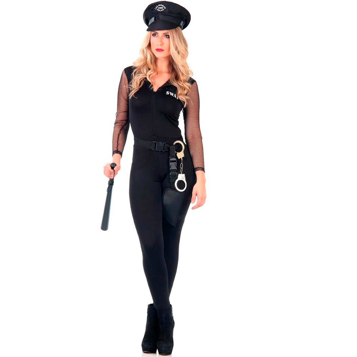 e5f1e6672 Fantasia de Policial Feminina Adulto Heat Girls - FantasiasCarol