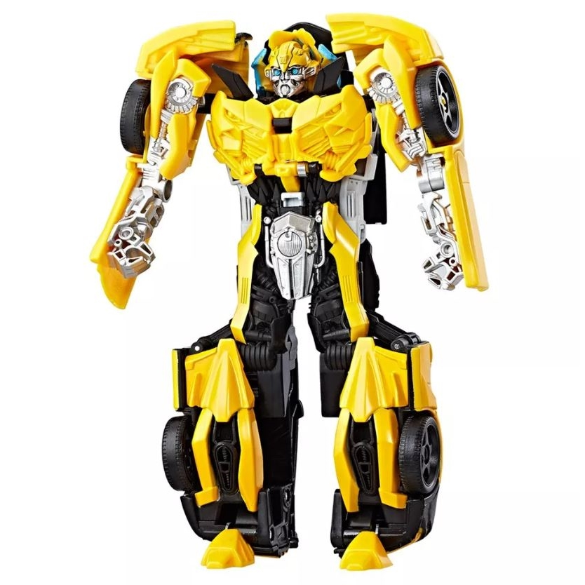 figura transformers turbo changer the last knight bumblebee c0886 hasbro jc brinquedos. Black Bedroom Furniture Sets. Home Design Ideas
