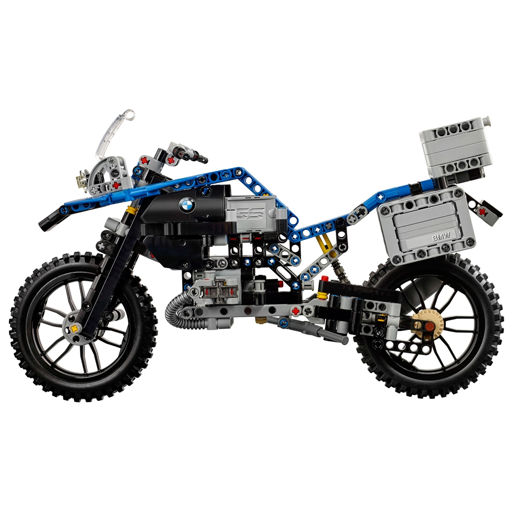 lego technic 42063 bmw r 1200 gs adventure jc brinquedos. Black Bedroom Furniture Sets. Home Design Ideas