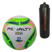 Kit Bola Futsal Max 1000 VII Penalty + Squeeze Automático 1lt 9851dee6ff6be