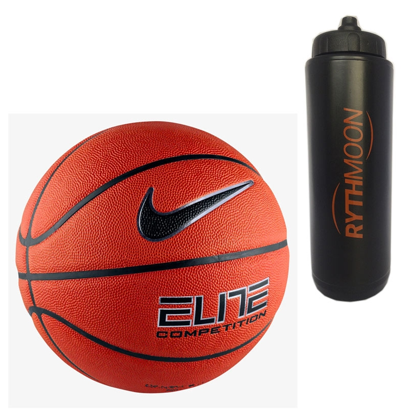 aa6f92a55755 Kit Bola Basquete Nike Elite Competition + Squeeze Automático 1lt ...