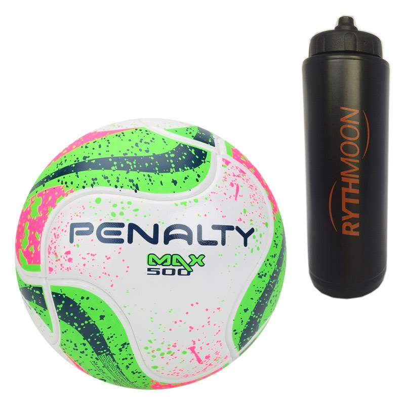 Kit Bola Futsal Max 500 Term VII Penalty + Squeeze Automático 1lt ... 97ae0157a8df6