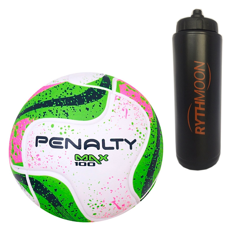06a6798969 Kit Bola Futsal Max 100 Term VII Penalty + Squeeze Automático 1lt ...