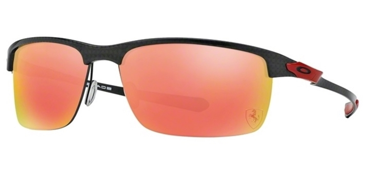1b1e52d41a OAKLEY CARBON BLADE - Polished Carbon   Ruby Iridium Polarized - ÓCULOS DE  SOL