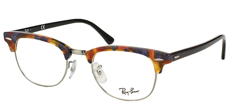 60bc35692a850 ... coupon code for ray ban rb 5154 5492 49 clubmaster pequeno Óculos de  grau 4f5d0 e449b