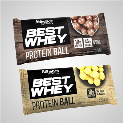 fc8e23227 Best Whey Protein Ball 50g - Atlhetica Nutrition - Vitae Suplementos
